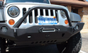 JCR Offroad Jeep Front License Plate | Winch Fairlead Mount | Universal - Wreckless Motorsports