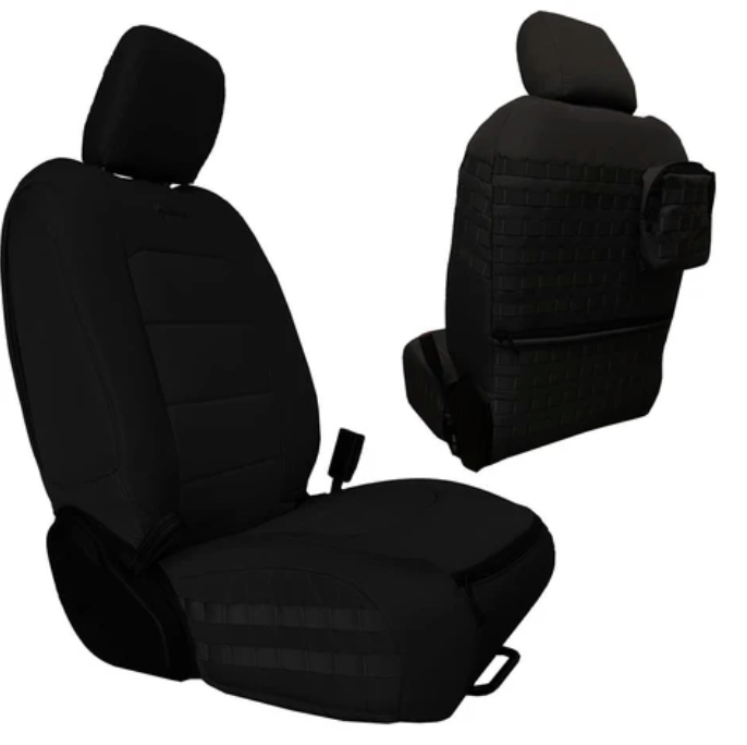 Bartact .2018-20 JEEP WRANGLER JLU BARTACT TACTICAL FRONT SEAT COVERS (PAIR) - 4 DOOR ONLY!