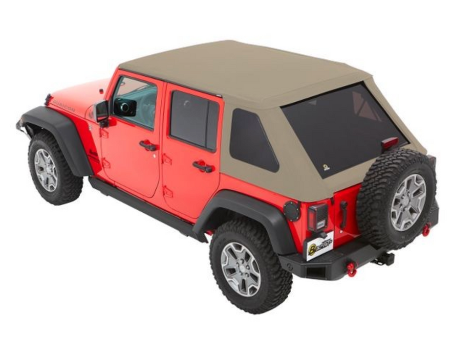 Bestop TREKTOP NX SOFT TOP for Jeep JK | 4 Door