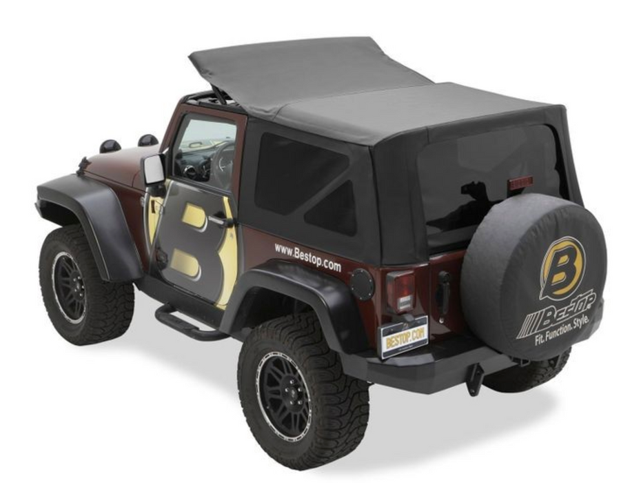 Bestop SAILCLOTH REPLACE-A-TOP™ | 2007-2009 Wrangler JK 2-DR (79136-35)