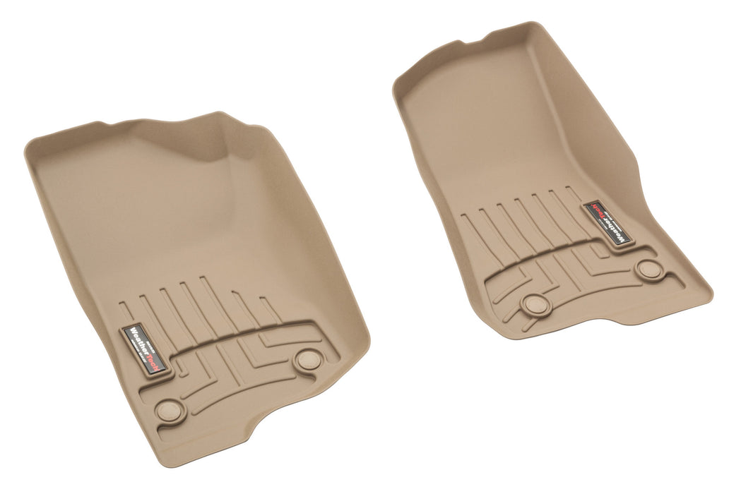 WeatherTech DigitalFit Front Floor Liners for 18-20  JL and  JT - Wreckless Motorsports
