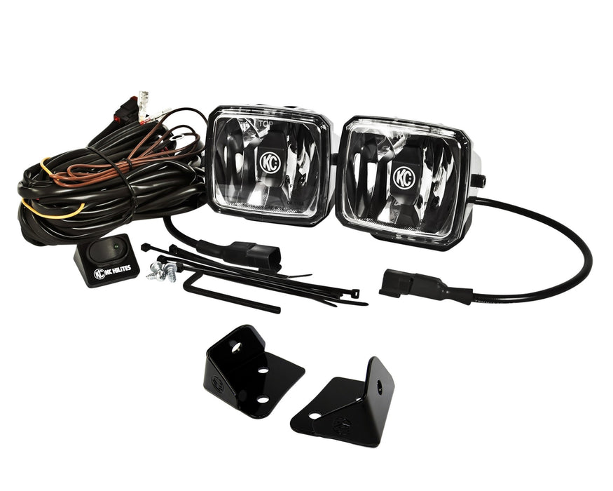 KC HiLites Jeep JL & JT A-Pillar/Cowl Mount Light Kits - Wreckless Motorsports