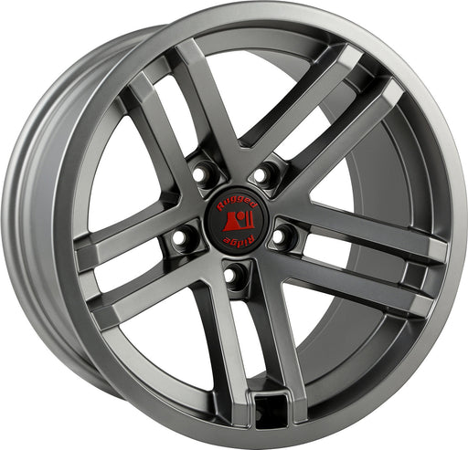 Rugged Ridge Jesse Spade Wheel, 17X9, Satin Gun Metal; JK/JL/JT - Wreckless Motorsports