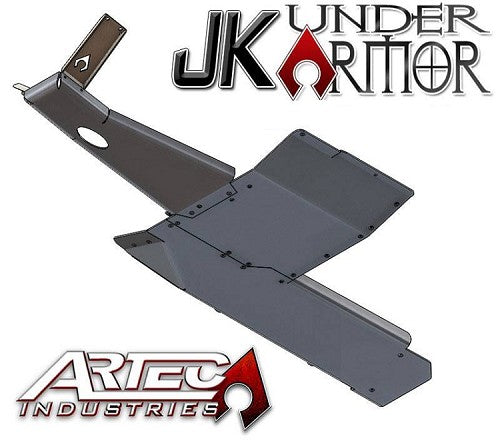 ARTEC Industries JK UNDER ARMOR - Two door Bellypan Kit - Wreckless Motorsports