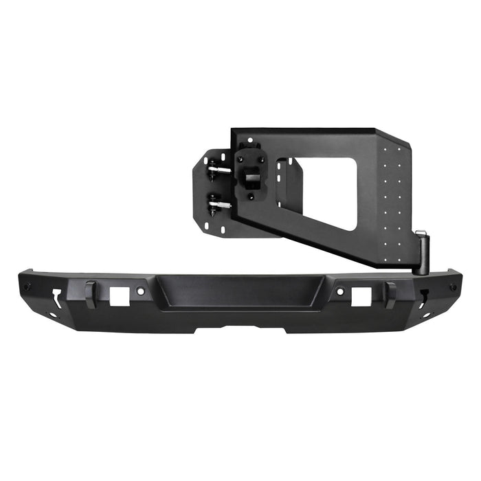 Westin WJ2 Rear Bumper System for 18-20 Jeep Wrangler JL With or W/O Tire Carrier - Wreckless Motorsports