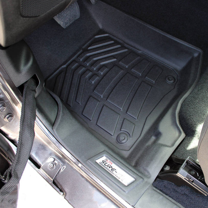 Westin Front Sure Fit Floor Liners for 18-20 Jeep Wrangler & Gladiator JT (72-110102) - Wreckless Motorsports