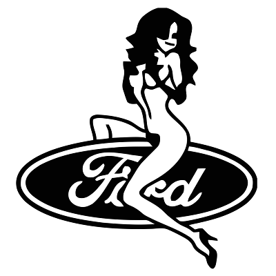 Sticker Ford Sexy