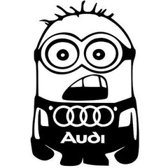 Sticker Audi Minion