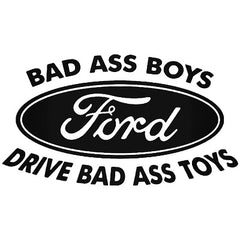Sticker Bad Ass Ford