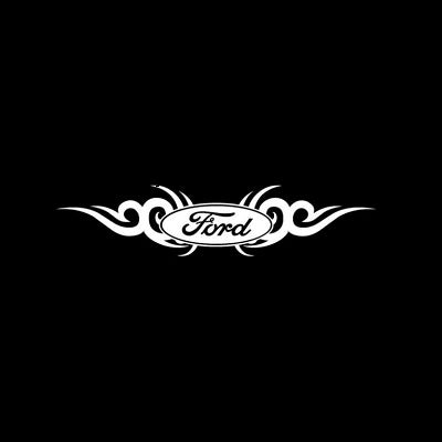 Sticker Ford Tribal