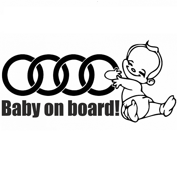 Sticker Audi Baby On Board