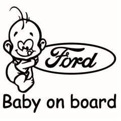 Sticker Ford Baby On Board