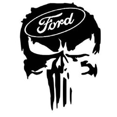 Sticker Ford Skull 2