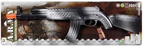 Flint Gun - Silver 40cm - Jungle Park Toys