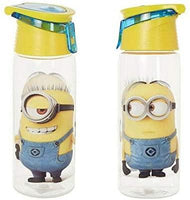 Zak - Minions Water Bottle - [ 24OZ ] Child Safety 739ml Childrens TRITAN Hydro Canteen BPA Free Water Bottle - Leak Proof - Jungle Park Toys