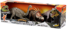 Load image into Gallery viewer, Kid Galaxy Dinosaur 3 Pack Action Figure - Jungle Park Toys