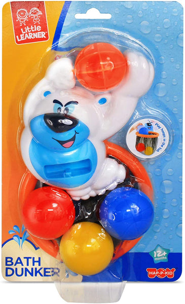 Little Learner Bath Dunker - Polar Bear Playset - Jungle Park Toys