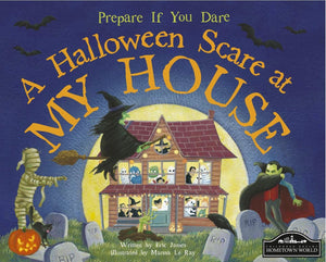 Halloween Scare at My House Hardcover - Jungle Park Toys