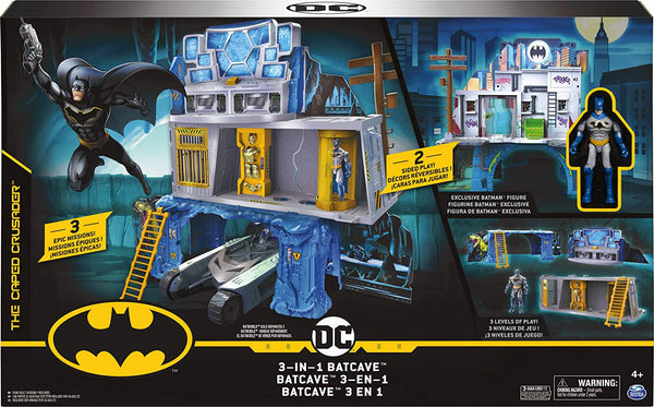 Batman 6058292 BAT PYS Mission Playset UPCX GML, Multicolour - Jungle Park Toys