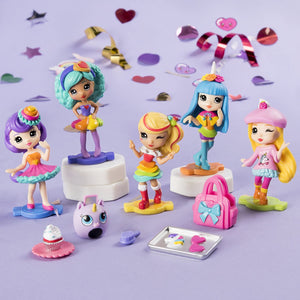Party Popteenies Surprise Popper with Confetti, Collectible Mini Doll and Accessories for Ages 4 and Up - Jungle Park Toys