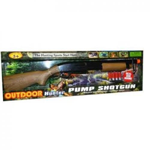 ELECTRONIC PUMP ACTION SHOTGUN - Jungle Park Toys