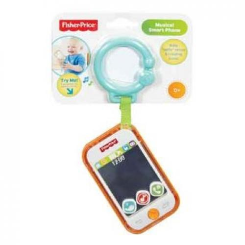 FISHER PRICE MUSICAL SMART PHONE - Jungle Park Toys