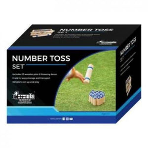FORMULA SPORTS NUMBER TOSS - Jungle Park Toys