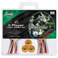 FORMULA SPORTS WARRIOR 4 PLAYER TABLE TENNIS SET - Jungle Park Toys