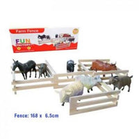 FUN FACTORY WOODEN FARM FENCE - Jungle Park Toys