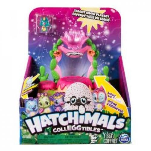 HATCHIMALS COLLEGGTIBLES SERIES 4 SHIMMERING SANDS TALENT SHOW PLAYSET - Jungle Park Toys