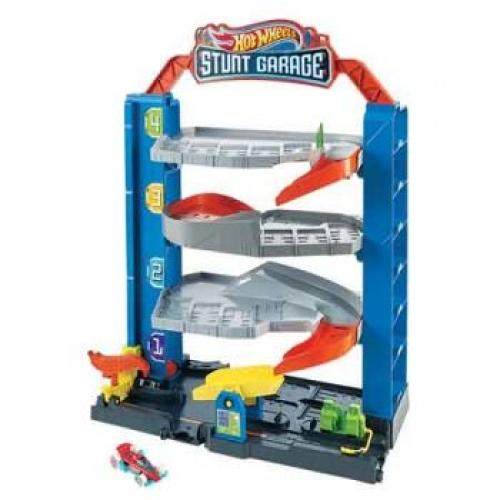 HOT WHEELS CITY STUNT GARAGE - Jungle Park Toys