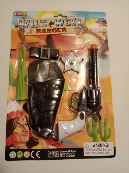 Wild West Ranger Toy Gun Set - Jungle Park Toys