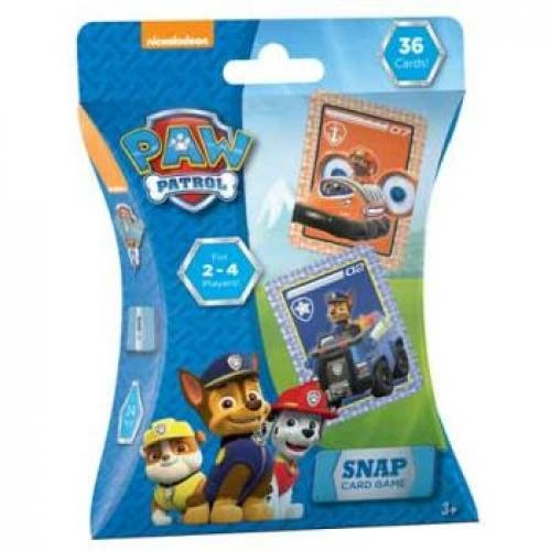 PAW PATROL SNAP CARD GAME - Jungle Park Toys