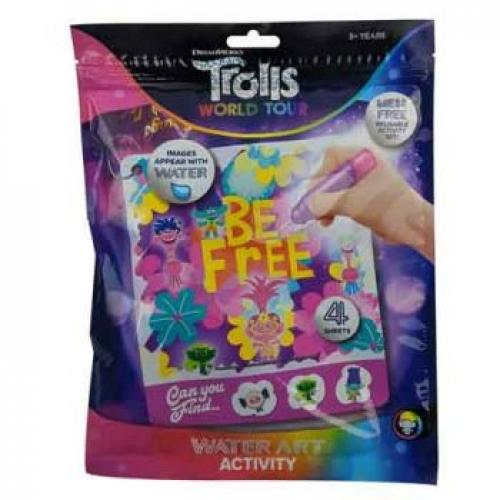 TROLLS 2 WT WATER ART SET - Jungle Park Toys