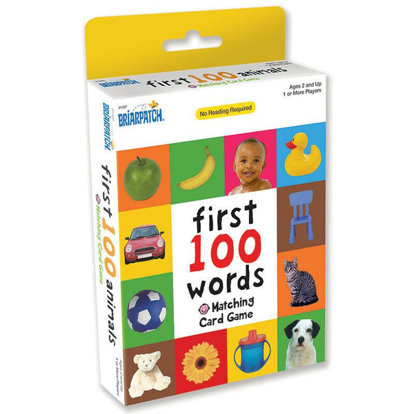 First 100 Words Matching Card Game Card Game - Jungle Park Toys