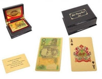 GOLD FOIL ULTIMATE PLAYING CARDS - Jungle Park Toys