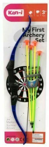 NEW Kan-I Archery Set With 4 Safety Arrows - Jungle Park Toys