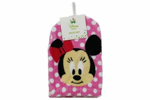 NEW MINNIE MOUSE - DISNEY BABY WASH MIT - Jungle Park Toys