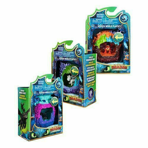 Dragons 3 Dragon Lair Playset Assorted NEW - Jungle Park Toys