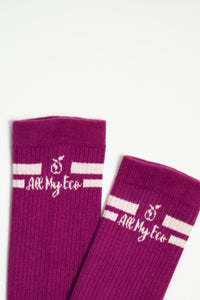 AME Purple Socks