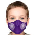 Purple Star Face Mask