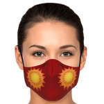 Red Star Face Mask