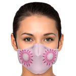 Pink Star Face Mask