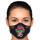 Jingle All The Way Holiday Face Mask