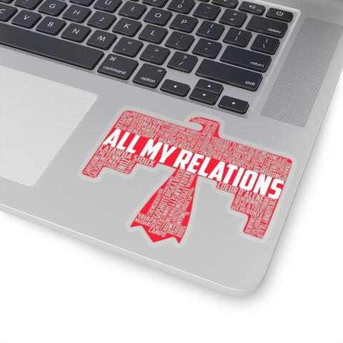 All My Relations Thunderbird Sticker