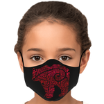 Red Bear Tribal Face Mask