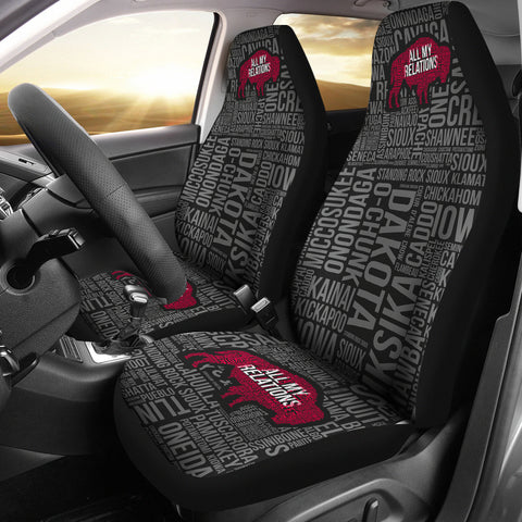 All My Relations Car Seat Covers