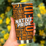 Native Pride Tumbler