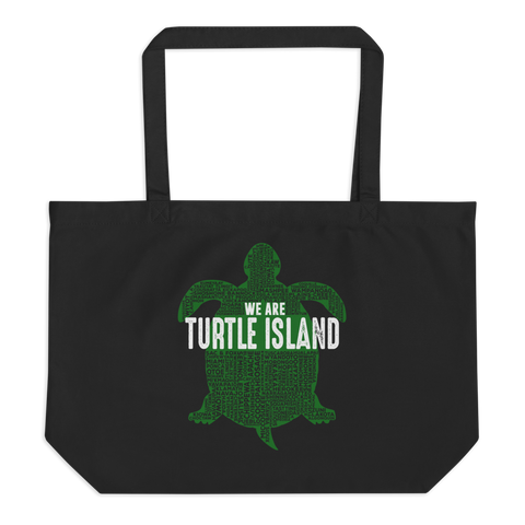 We Are Turtle Island Tote Bag