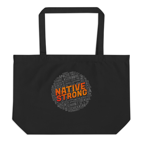 Native Strong Tote Bag